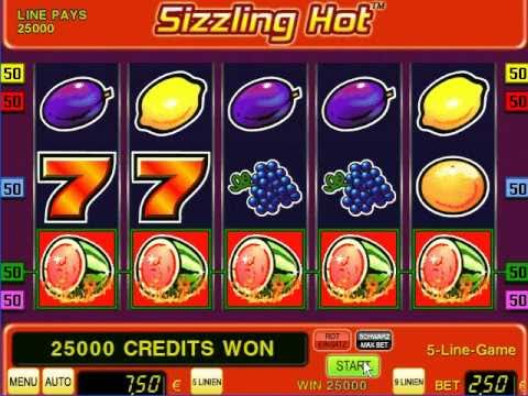 online novoline casino sizzling hot free game