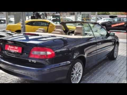 volvo c70 cabriolet 2 4t 26147 auto kunz ag occasion youtube. Black Bedroom Furniture Sets. Home Design Ideas