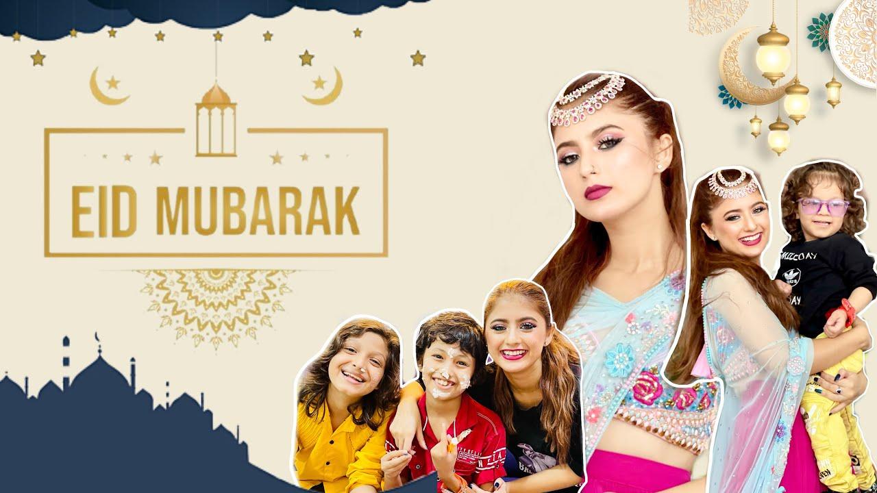 Eid Vlog with Family | Arishfa Khan