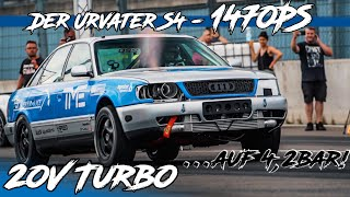 1470PS Audi Ur-S4 20V Turbo Quattro auf 4,2bar I BS Carperformance I RD48