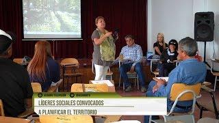 Líderes sociales convocados a planificar el territorio