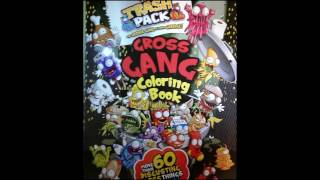 the trash pack coloring book / color with me 🙌