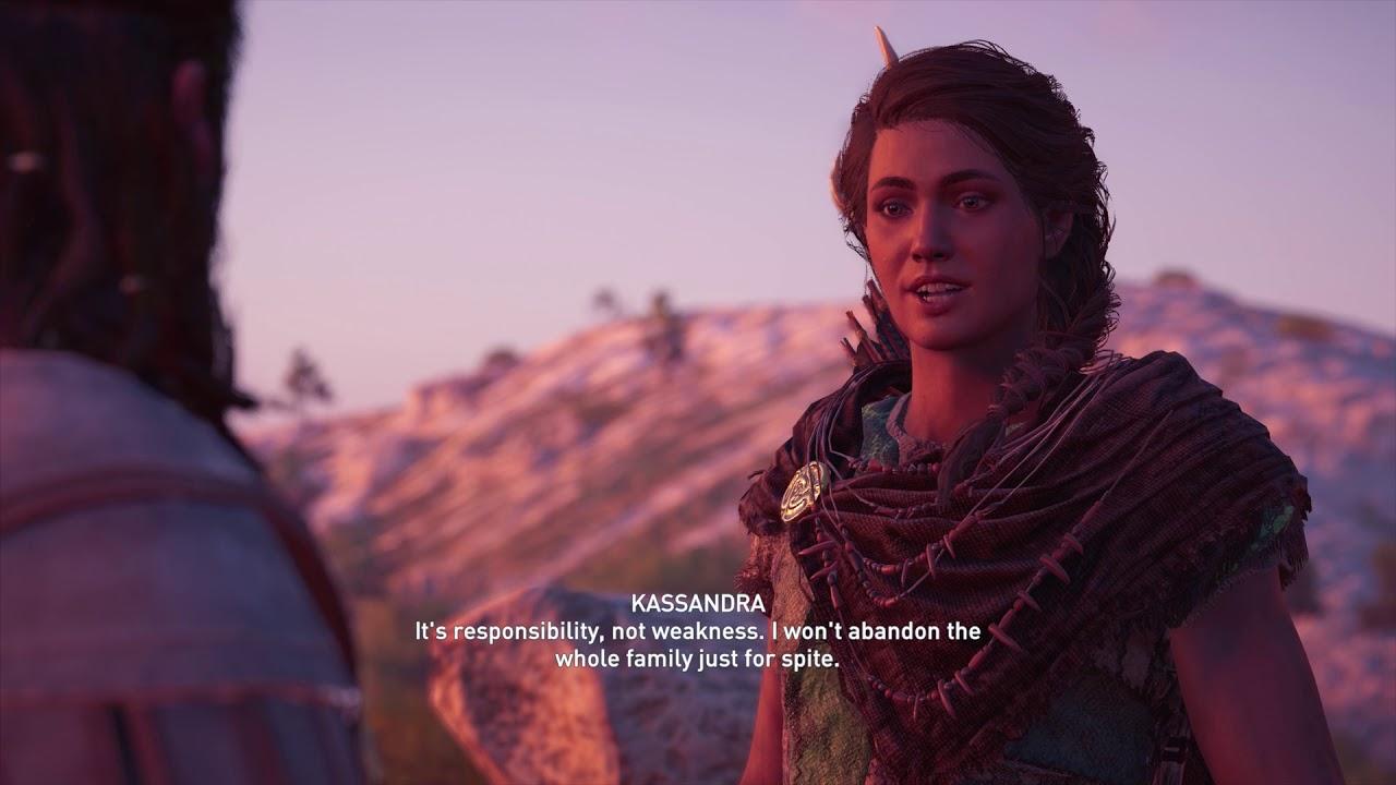Assassin S Creed Odyssey Kassandra Alexios Meeting All