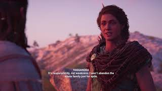 Assassin's Creed Odyssey - Kassandra & Alexios Meeting (All Choices)