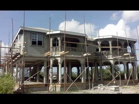 The art of building a house on dominica tony roudette - When building a house ...