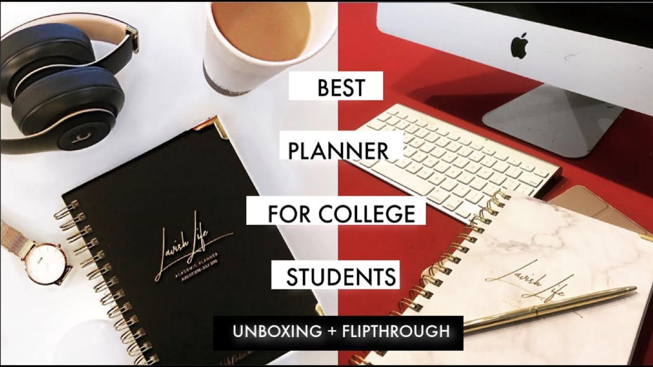 THE NEW 2019-2020 LAVISH LIFE ACADEMIC PLANNER UNBOXING AND FLIPTHROUGH