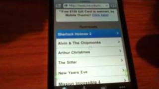 Repeat youtube video How to download free movies on your iPad,iPod,or iPhone wit