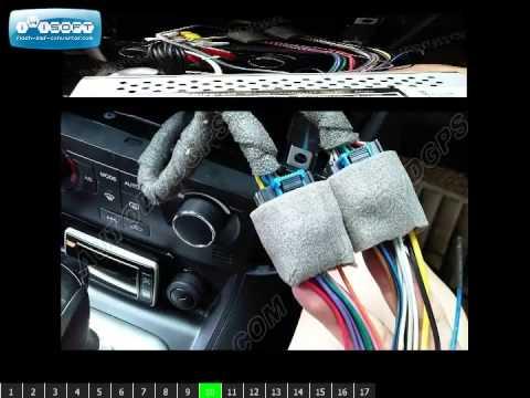 Chevrolet Captiva DVD GPS installation - YouTube