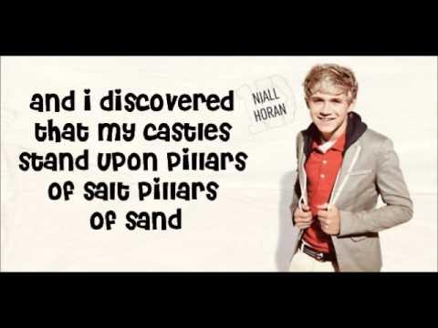 Viva La Vida  One Direction lyrics with pictures, XFactor show1