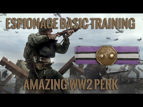 Espionage Basic Training Is Awesome | Call of Duty: WWII