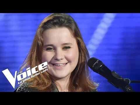 Joe Cocker (You are so beautiful) | Betty Patural | The Voice France 2018 | Auditions Finales