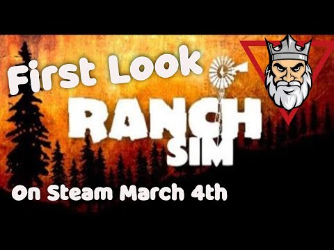 Ranch Simulator - First Look - Build, Farm, Hunt and Trade With Friends! |