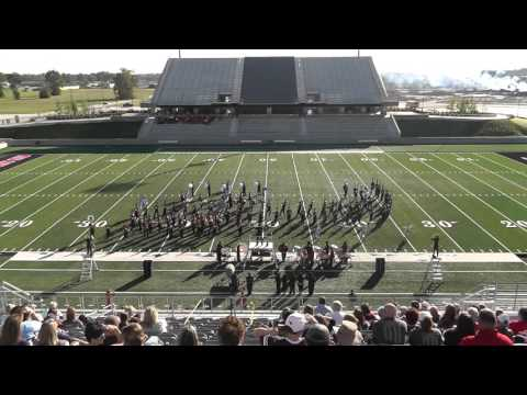 Goose Creek Memorial High School Band 2015 - UIL 5A Area F Marching Contest