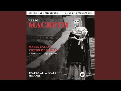 """Macbeth, Act 4: """"Perfidi! All'Anglo Contro Me V'unite!"""" (Macbeth) (Live)"""