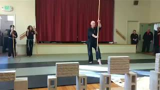 5 person martial arts demonstration Part 3