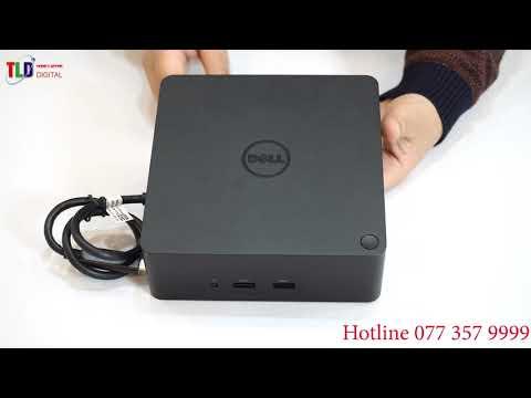 Cổng Chuyển Dell ThunderBolt 3 Dell Dock K16A Ra USB Lan HDMI VGA