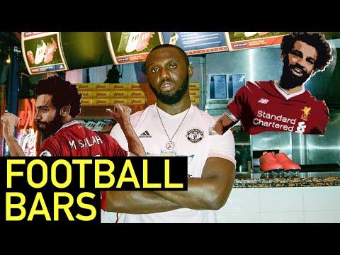 UK DRILL BARS : FOOTBALL EDITION