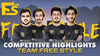 PMPL + SCRIMS HIGHLIGHTS / TEAM FREE STYLE 🇵🇰