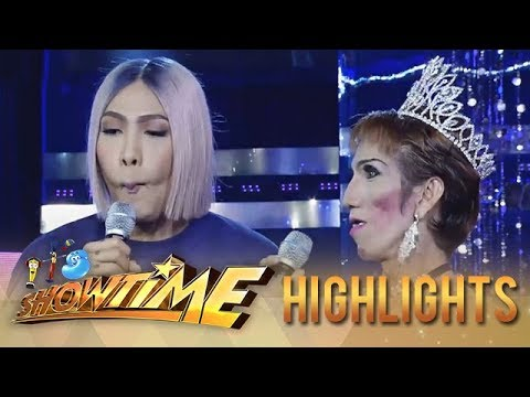 It's Showtime Miss Q & A: Vice Ganda pokes fun at Odessa Jones
