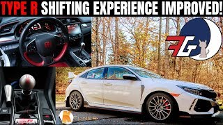 MUCH BETTER!   FK8 Honda Civic Type R MUST DO Shifter Mods Review