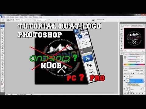 Tutorial Photoshop membuat logo untuk Pemula - Adobe photoshop | APW Calon youtuber thumbnail