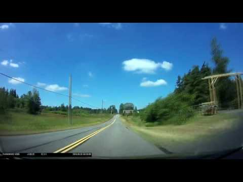 Time Lapse - Zero Avenue on the Canada / United States Border, British Columbia
