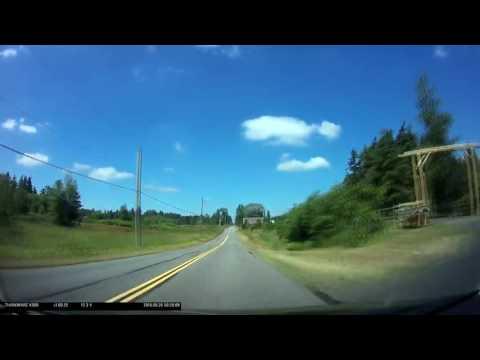 Time Lapse - Zero Avenue on the Canada / United States Border, British Columbia