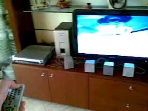 Home Theater Subwoofer >> Collegamento TV mio Home Theatre - YouTube