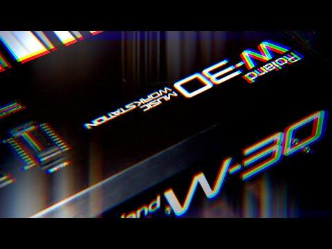 Roland W-30   A Superb Sampling Workstation   Demo/Review/Tutorial