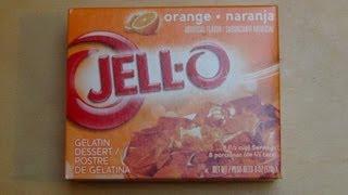Jello Orange [gelatin Dessert]