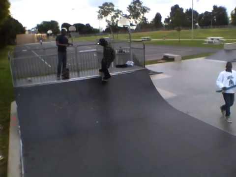 Darby Park skaters