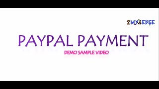 Paypal Payment System Sandbox Process Complete Demo
