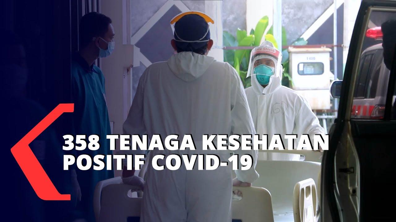 358 Tenaga Kesehatan Positif Covid-19