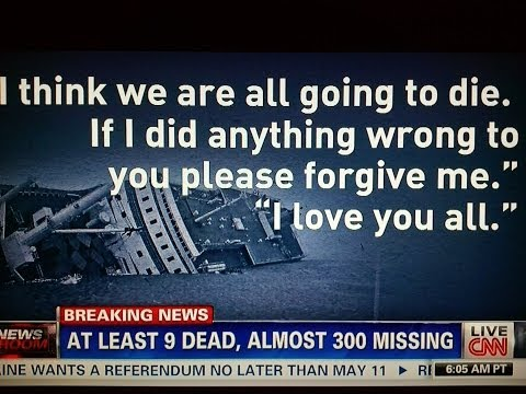 HORRIFYING HAUNTING texts from teens 2 parents before drowning in the South Korea Sinking Ferry Ship