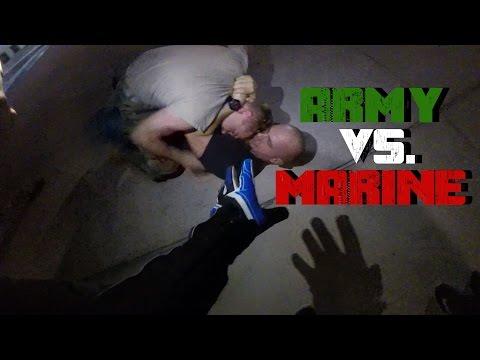 Army vs. Marine     Houston's Stunt Spot