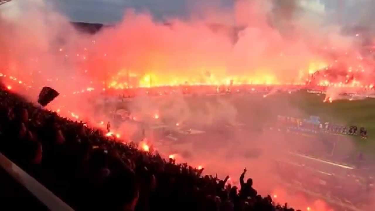 Paok Saloniki Olympiacos Piraeus 16 O4 2o14 Youtube