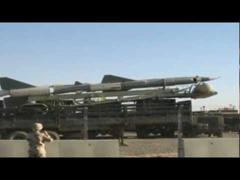 Huge Missiles Found in Iraq (Not weapons of Mass Destruction)