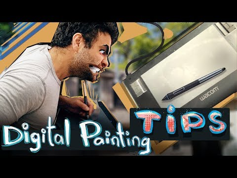 9 Digital Painting Tips 'n Tricks | PHOTOSHOP