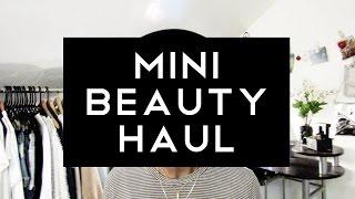 HAUL | Mini Beauty Haul Thumbnail