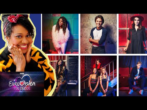 YOU DECIDE 2019  - UK EUROVISION SELECTION - TUNEFUL TV REACTION & REVIEW