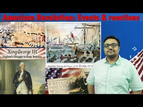 WHUS/P2: American Revolution: Events & reactions, Boston Tea Party for UPSC Mains GS1