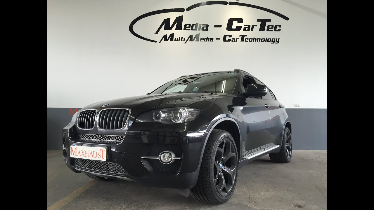 bmw x6 e71 30d with maxhaust active sound youtube. Black Bedroom Furniture Sets. Home Design Ideas