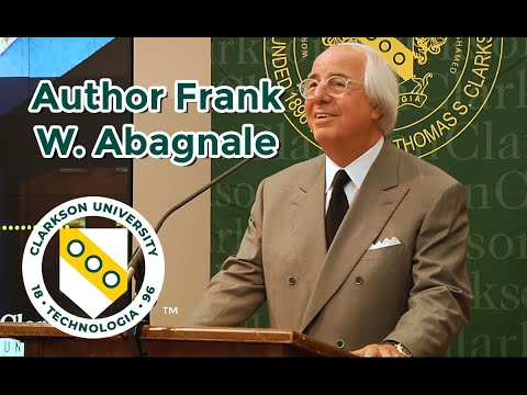 Catch Me If You Can Author Frank W. Abagnale Speaks at Clarkson University