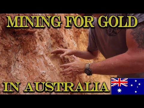 MINING VISIBLE GOLD from the Vein in Australia!