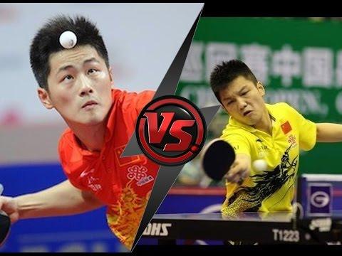 Table Tennis Chinese League 2016 - Zheng Peifeng Vs Fan Zhendong -