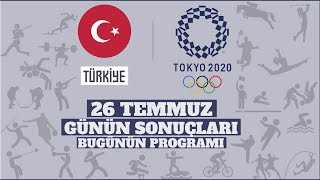 Tokyo 2020 Olimpiyat Oyunlarında 4. Gün |Nur Tatar