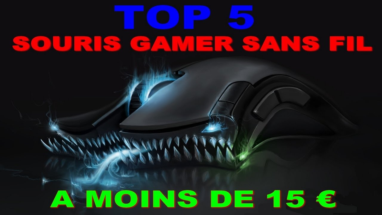 top 5 souris gamer sans fil a moins de 15 youtube. Black Bedroom Furniture Sets. Home Design Ideas