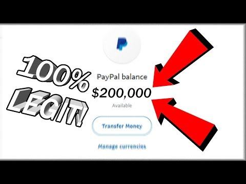 How To Get Free Paypal Money Instantly 100 Legit