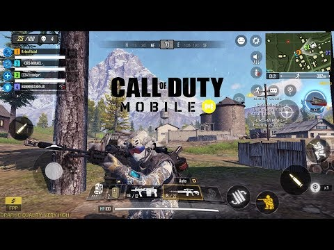 Call Of Duty Mobile Battle Royale! | Full Gameplay| IOS/Android