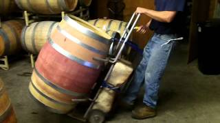 The Barrel Washer On Cleaning Stand.mp4